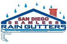 San Diego Seamless Rain Gutters California