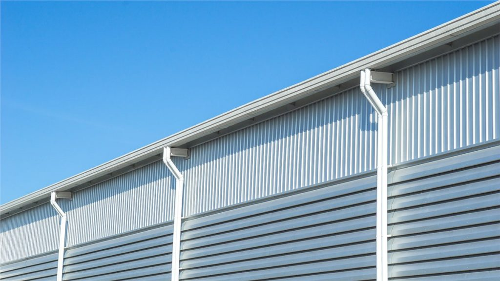 San Diego Commercial Seamless Rain Gutters